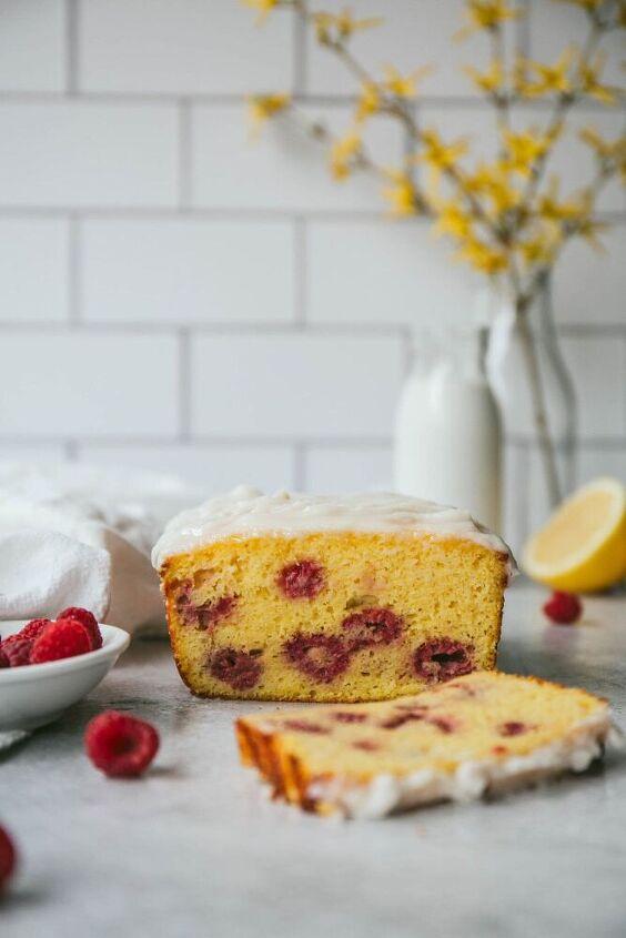 lemon raspberry sweet bread