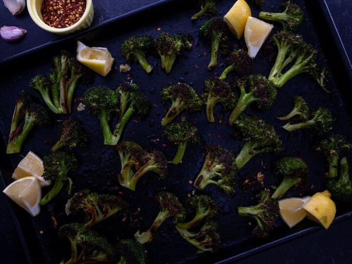 roasted broccoli with garlic and lemon