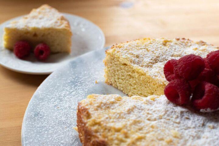 lemon ricotta cake with almond flour