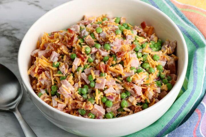 classic ham pea salad recipe