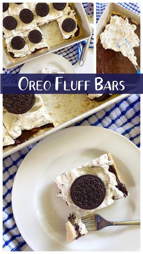 oreo fluff bars