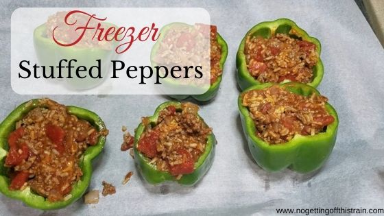 freezer friendly stuffed peppers no getting off this train