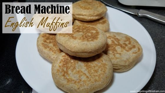 bread machine whole wheat english muffins no getting off this train