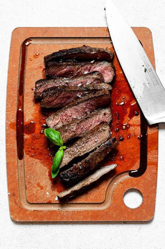 easy italian marinated skirt steak