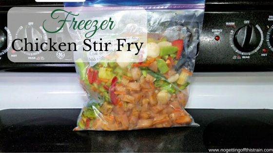freezer chicken stir fry no getting off this train