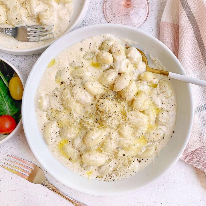 gnocchi truffle alfredo