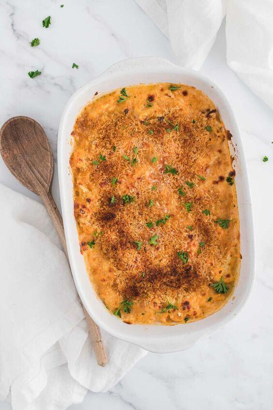 cauliflower mac and cheese keto gf