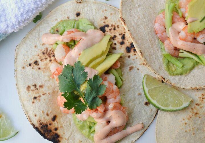 the easiest simple shrimp tacos