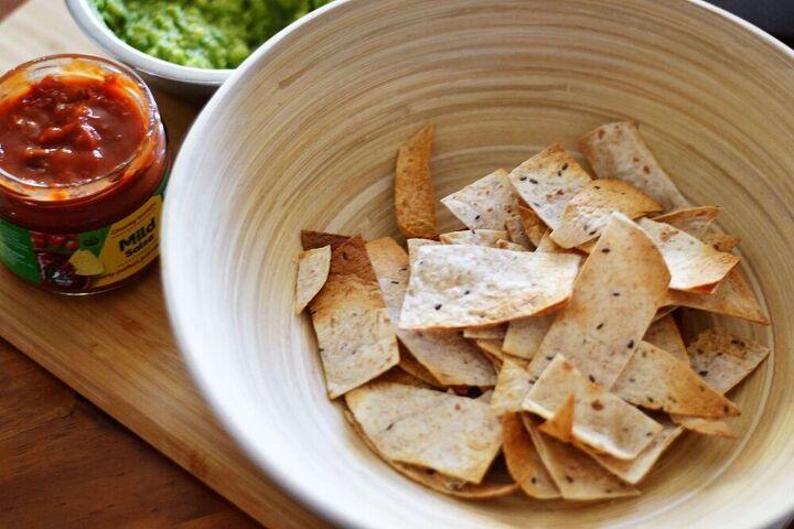 how to make air fryer tortilla chips