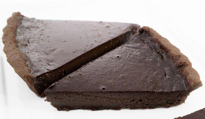 velvety chocolate tart
