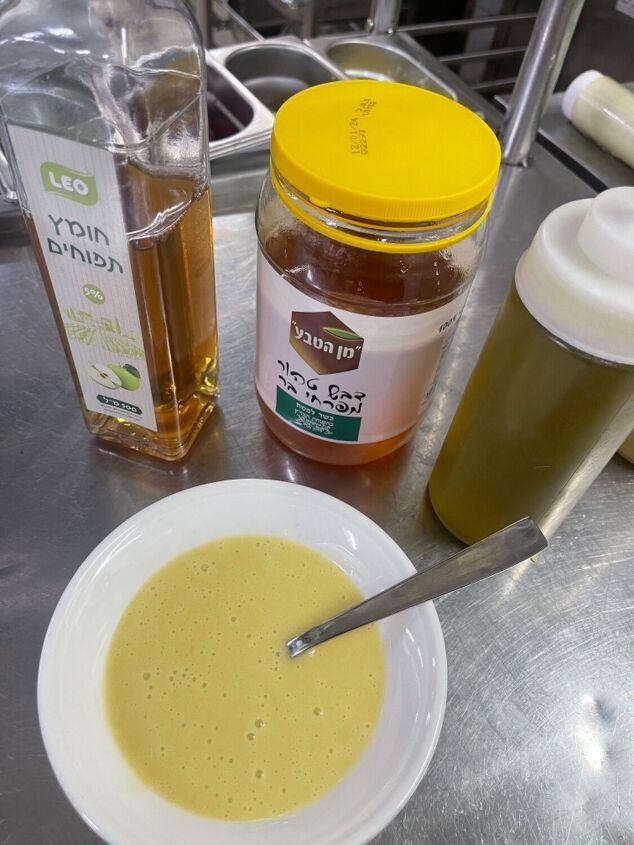 honey apple vinegar vinaigrette