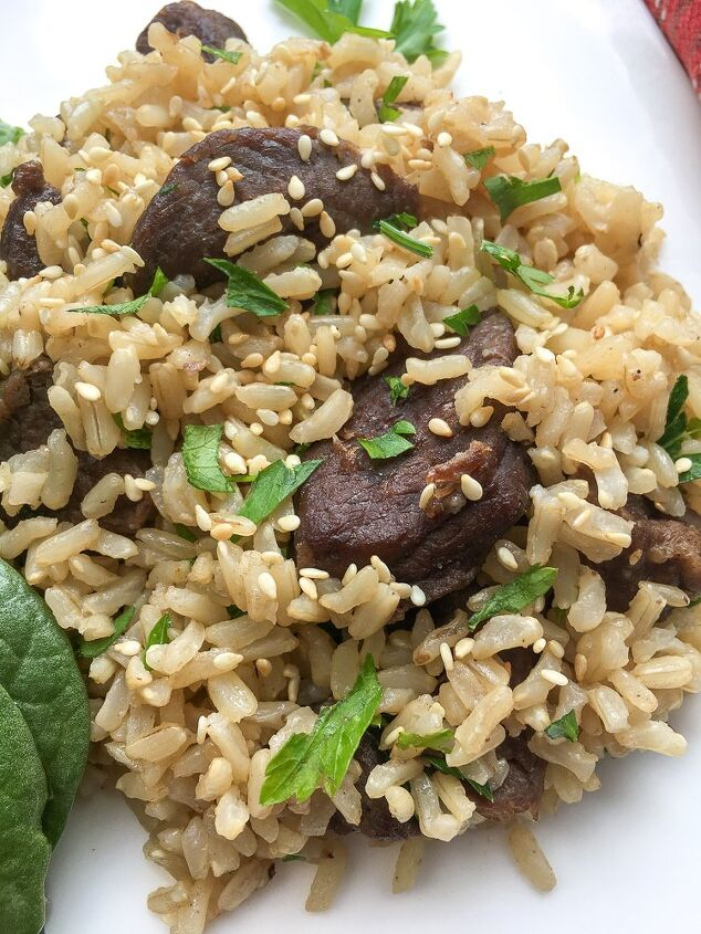 easy to prepare instant pot asian beef and rice