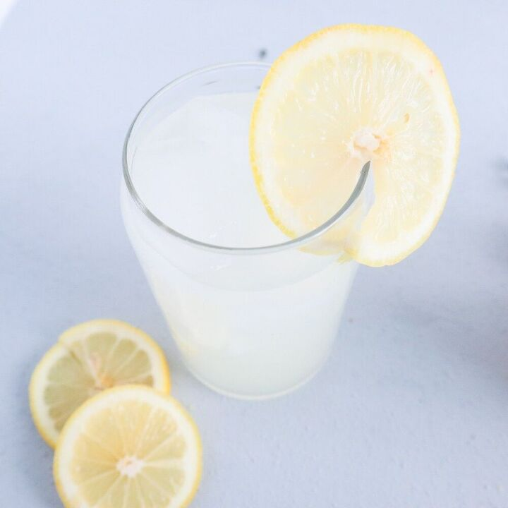 3 ingredient lemonade