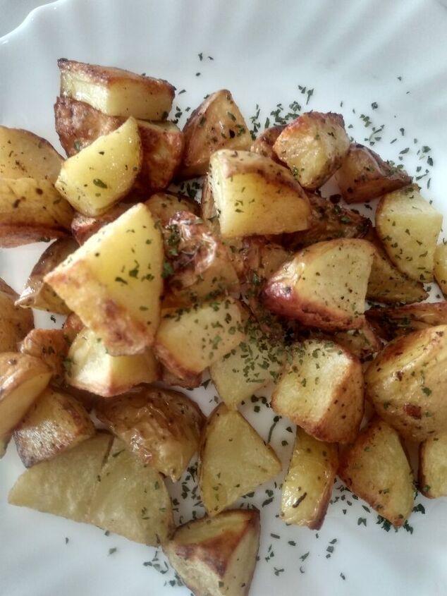 one pan roasted potatoes