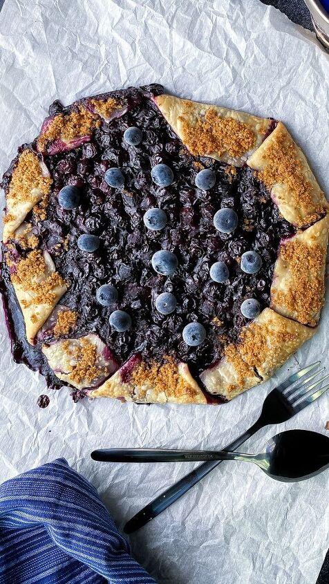 blueberry graham galette