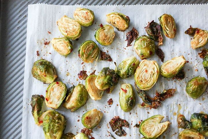 smoky roasted brussels sprouts