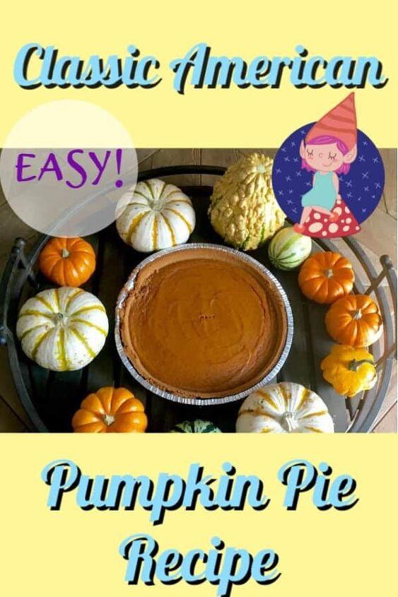 american pumpkin pie recipe