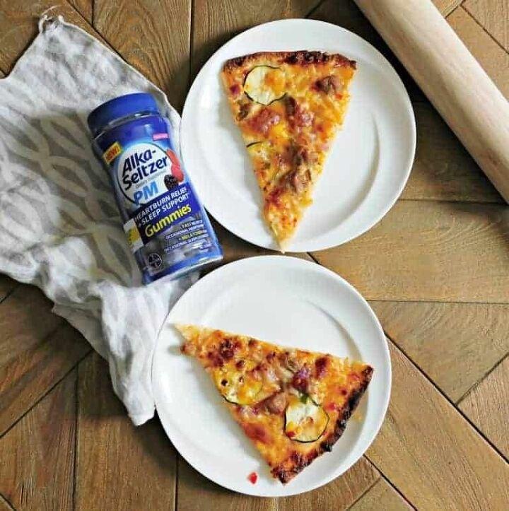thin crust sweet chili pizza
