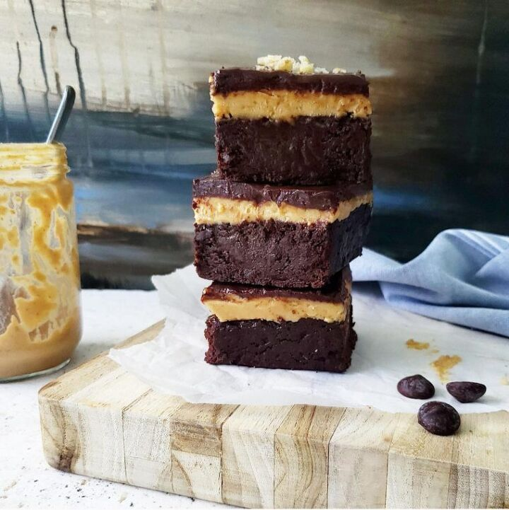 recipe for peanut butter brownies
