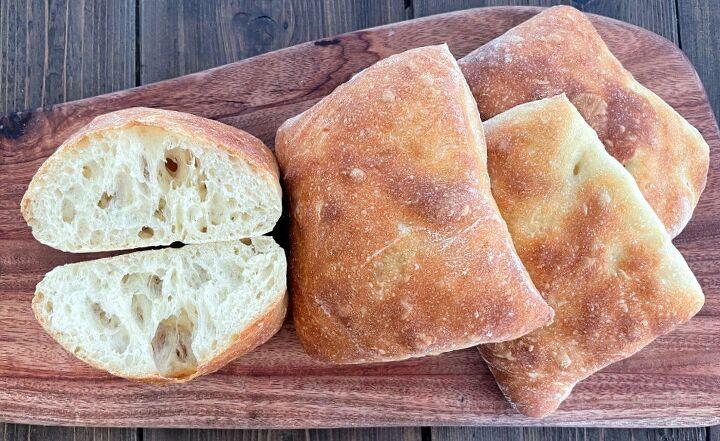 easy ciabatta rolls