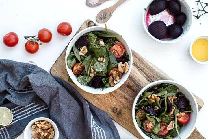 easy beet and spinach salad recipe