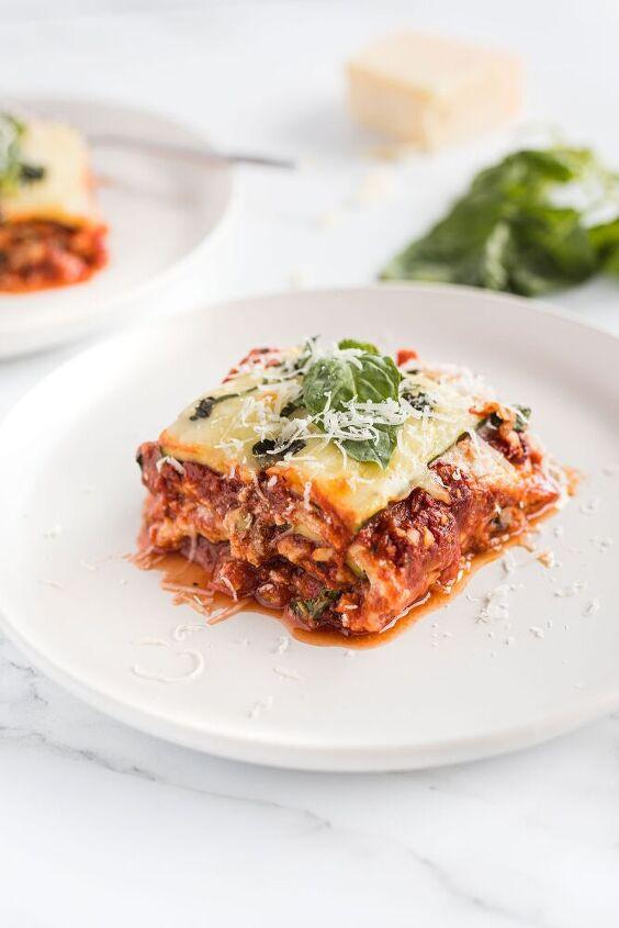 zucchini lasagna keto gf