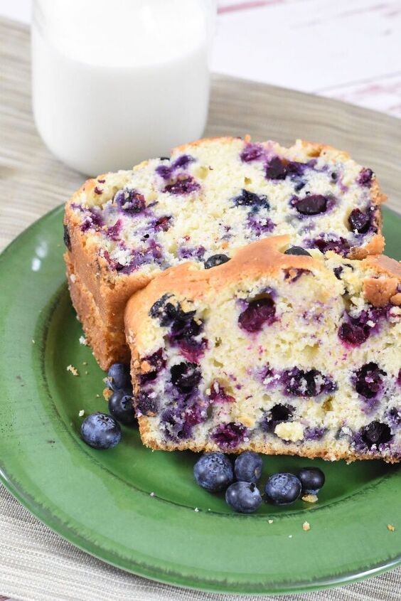 easy blueberry bread recipe full of flavor
