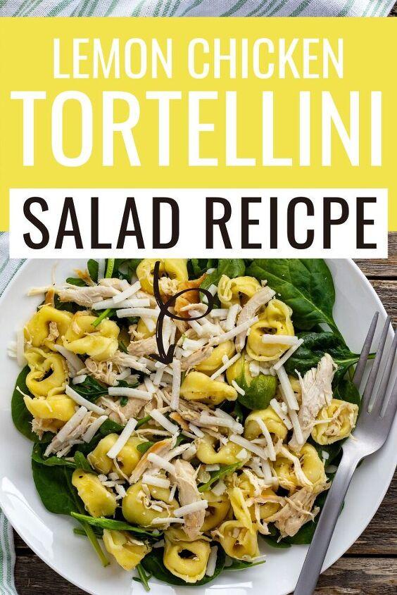 lemon chicken tortellini salad