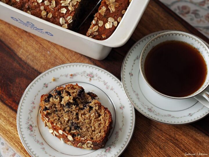 blueberry oatmeal loaf bread recipe