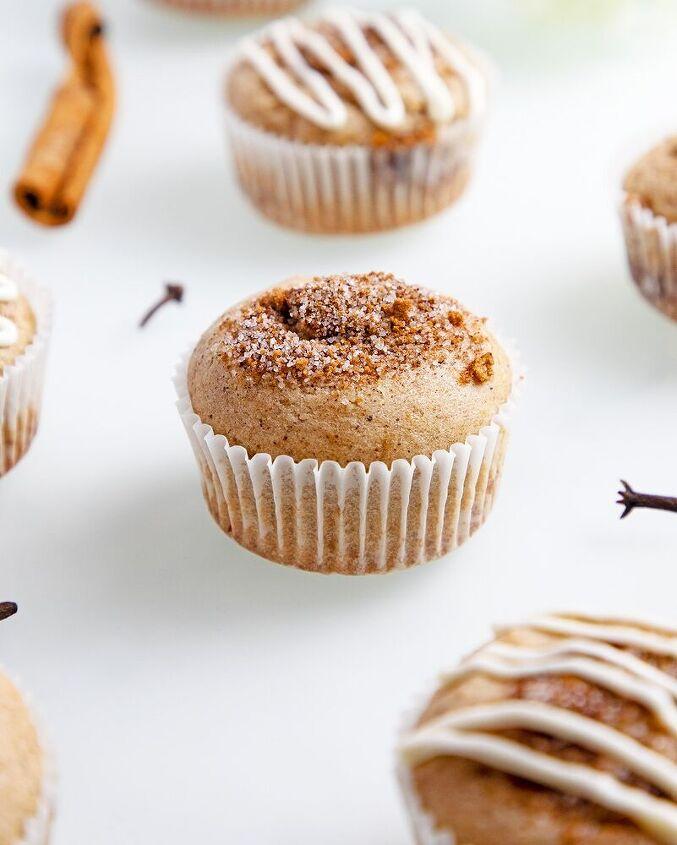 gluten free cinnamon sugar cupcake