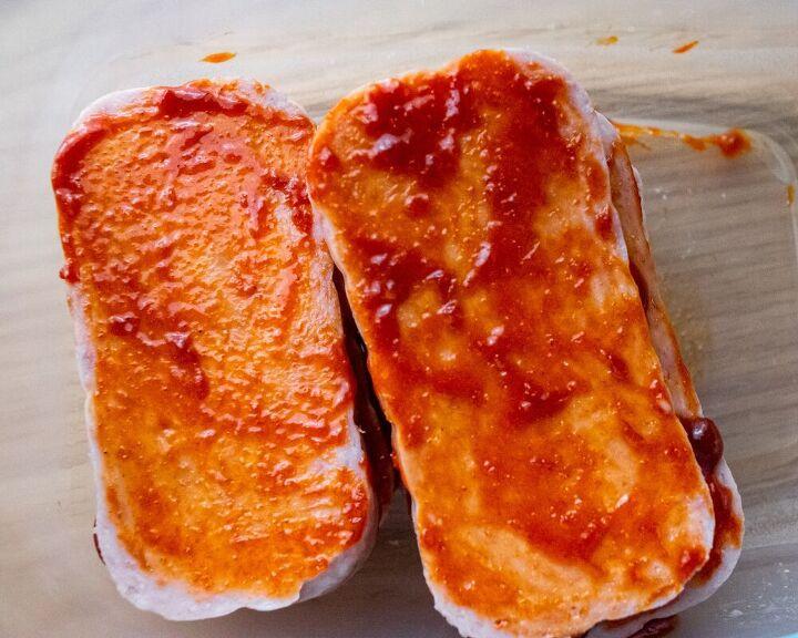 easy peasy spicy spam musubi