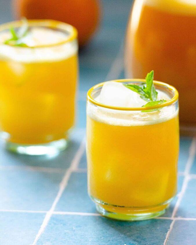 orange agua fresca agua de naranja