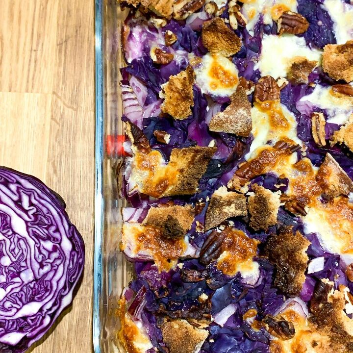 red cabbage bake
