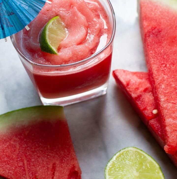 frozen watermelon mule slush