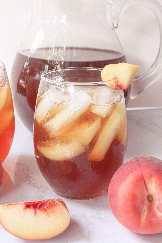 skinny peach iced tea