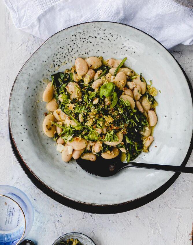 summer white bean stew