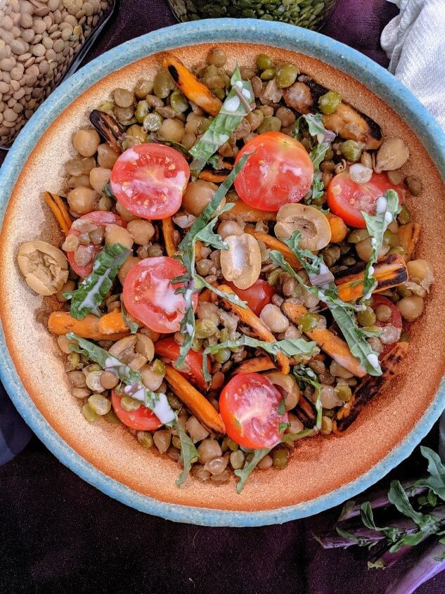 fresh and healthy grain salad