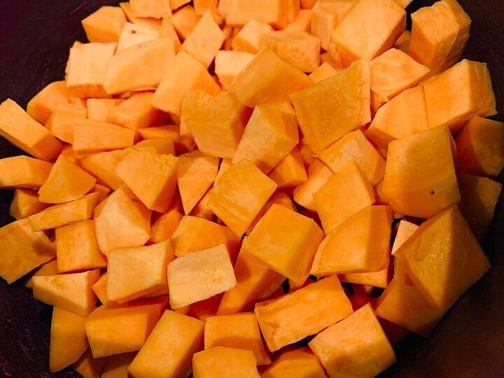air fried sweet potatoes