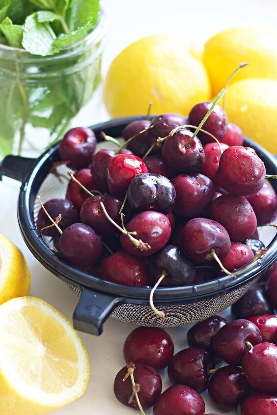 cherry sauce to enjoy with ice cream and other desserts all summer lon