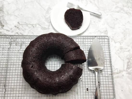 world s best chocolate rum cake vegan