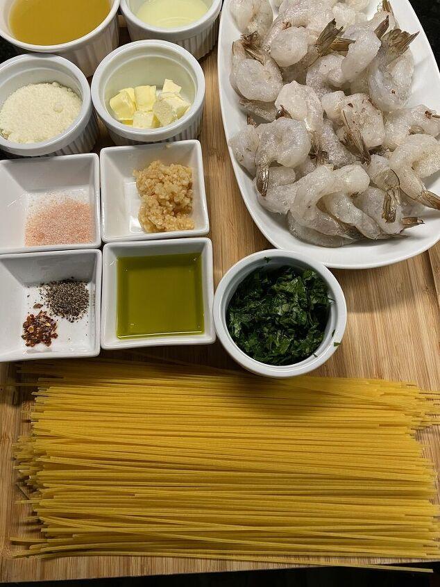 shrimp scampi with gf spaghetti recipe