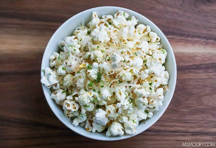 coconut lime popcorn