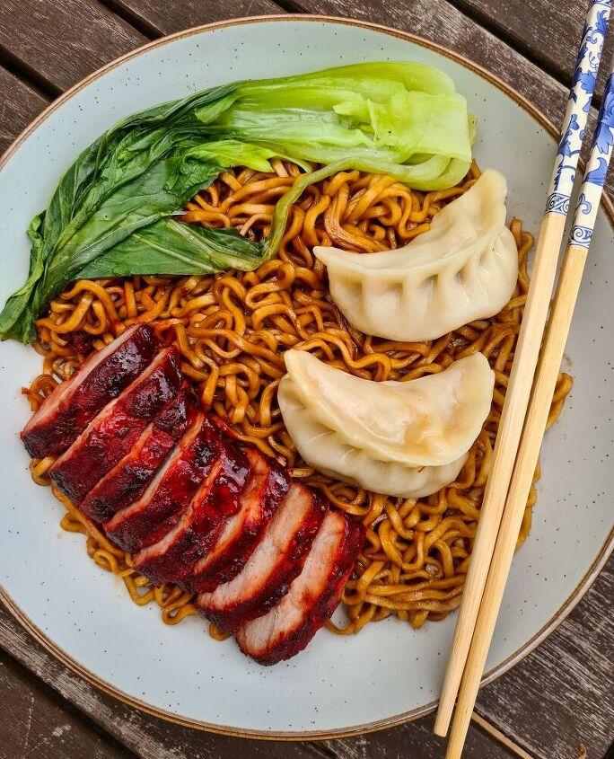 spring onion scallion oil noodles