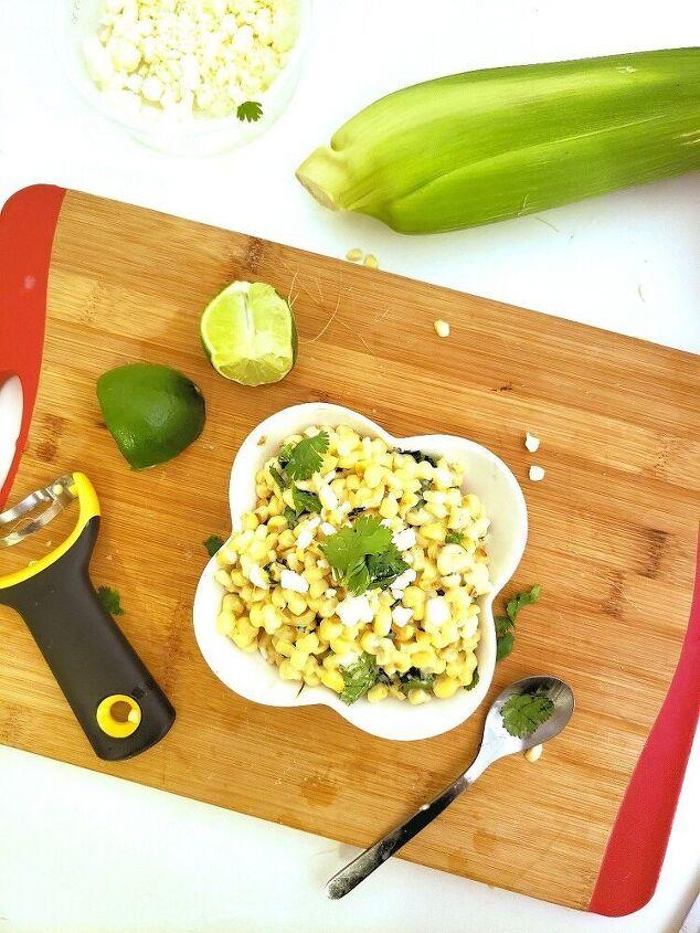 esquites warm mexican corn salad