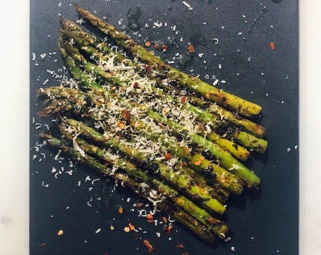 chili parmesan asparagus