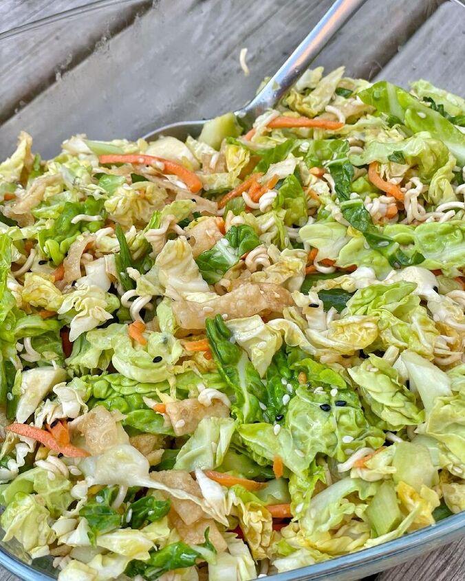 nut free asian ramen noodle salad