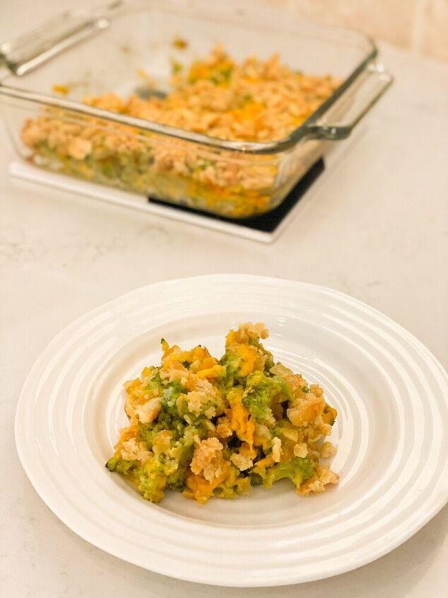 lightened up broccoli casserole