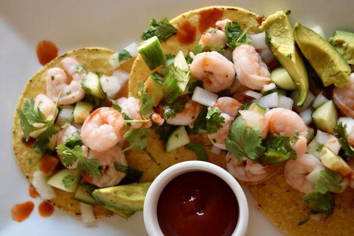 coctel de camarones mexican shrimp cocktail