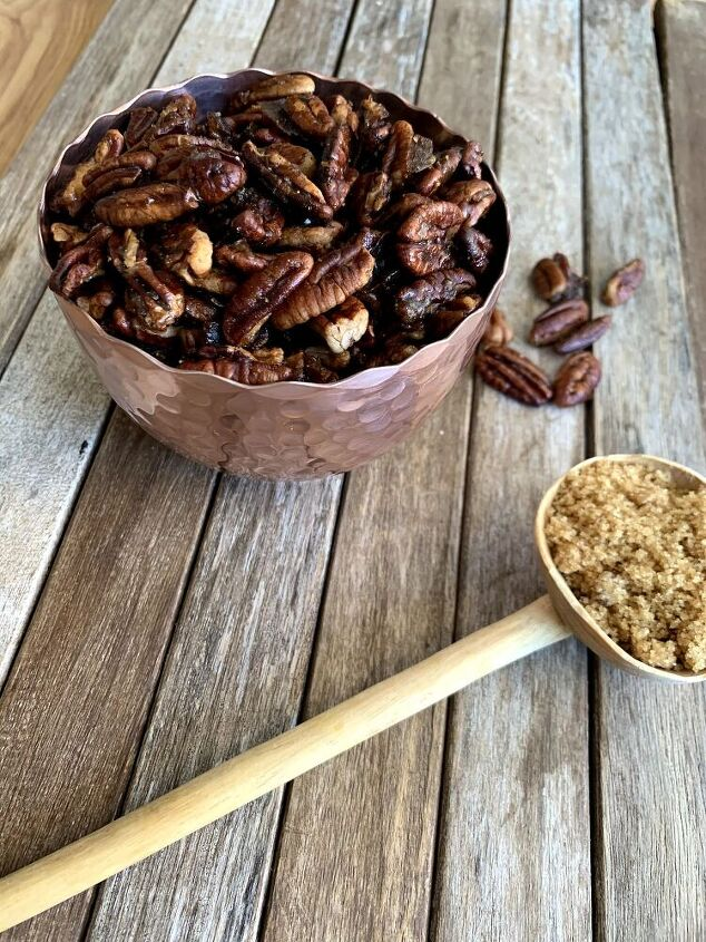 easy candied pecan