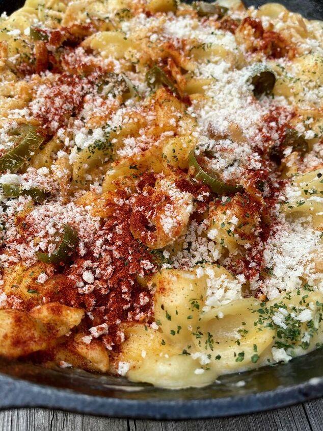 smoky jalapeno mac cheese